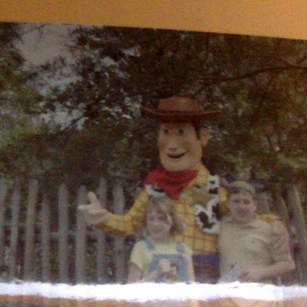 Me and Little Sis with Woody(2010)
