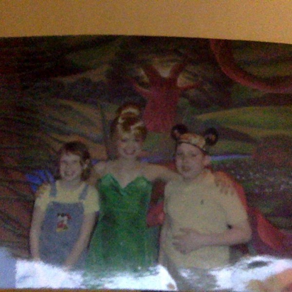 Me and Little Sis with Tinker Bell(2010)