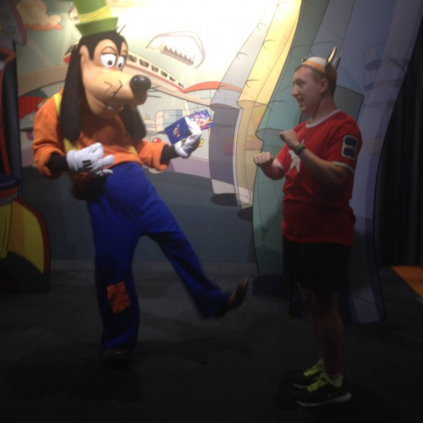 Rockin it out like Goofy's son Max